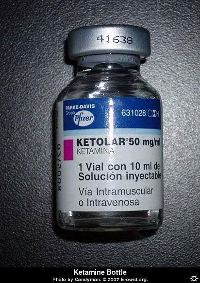 Ketamine Bottle - Water Bottle Labels