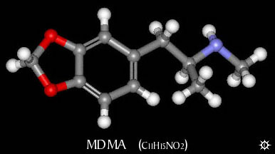 the chemical methylene dyixymethamphetamine ecstasy 3,4-methylenedioxymethamphetamine (mdma), commonly known as ecstasy  (e), is a  a 1920 merck patent describes a chemical modification to mdma.