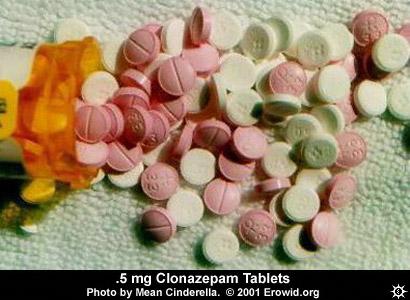 clonazepam vs xanax high erowid